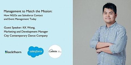 Management to Match the Mission: how NGOs use Salesforce Contact &Event MGT tickets