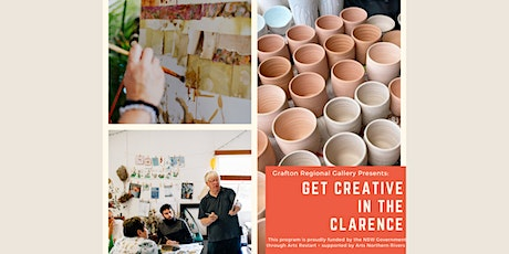 Get Creative in the Clarence ~ Ceramics with Amanda Brightwell tickets