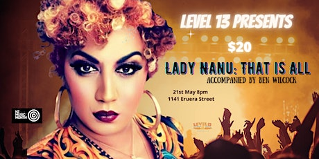 Live Music Lady Nanu: That is All tickets