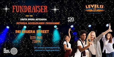 Fundraiser: Youth Opera Aotearoa Rotorua Accelerando Programme 2021 tickets