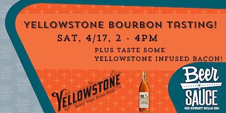 Yellowstone Bourbon Tasting tickets