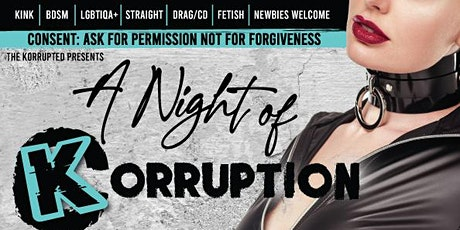 A NIGHT OF KORRUPTION tickets