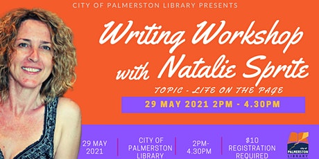 Life on the Page with Natalie Sprite tickets