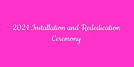 2021 Officer Installation & Rededication Ceremony tickets
