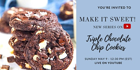 Triple Chocolate Chips Cookies - Free Workshop tickets