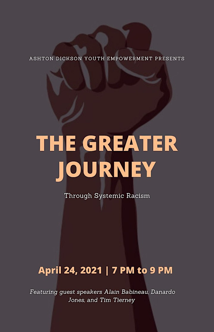 The Greater Journey:  Through Systemic Racism image