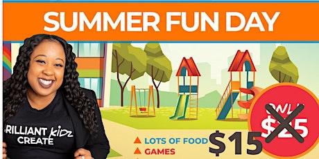 Brilliant Kidz Create Summer Fun Day tickets