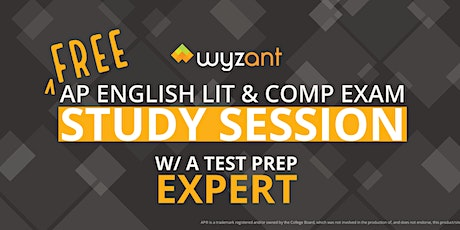 FREE English Literature and Composition Exam Study Session tickets