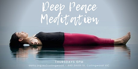 Deep Peace Guided Meditation tickets