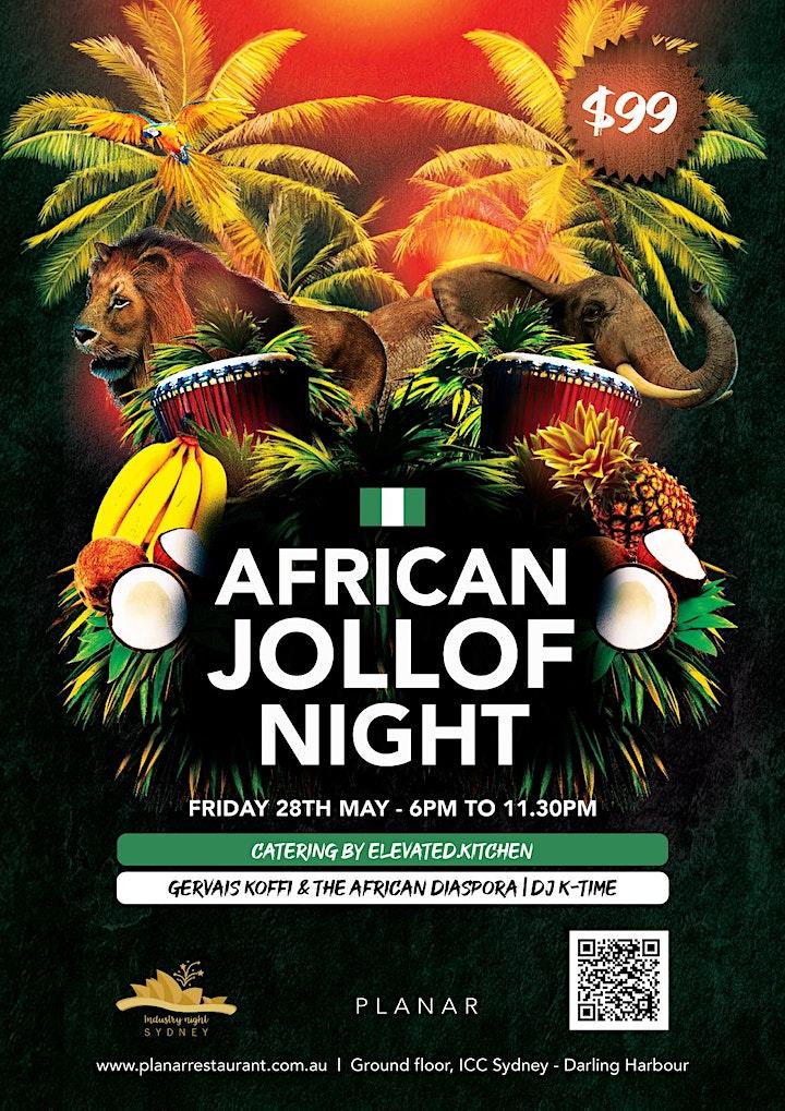 African Jollof Night image
