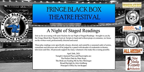 Fringe Black Box Theatre Festival - Staged Reading - April 26th tickets