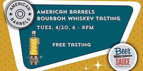 American Barrels Bourbon Tasting tickets