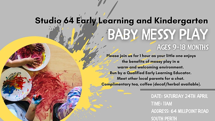 Messy Play - Saturday 29 May 2021 image