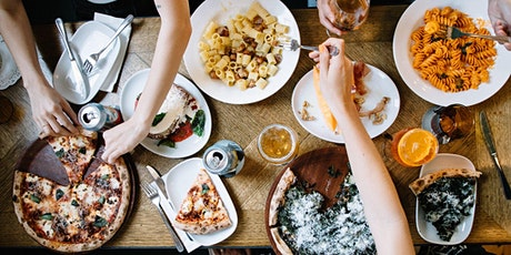 Bottomless Pizza | Pasta | Cocktails tickets