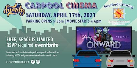 Carpool Cinema at Stratford Crossing - Onward tickets