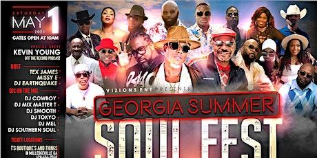 THE GEORGIA SUMMER SOUL FESTIVAL tickets