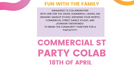 Commercial St Collab Party tickets