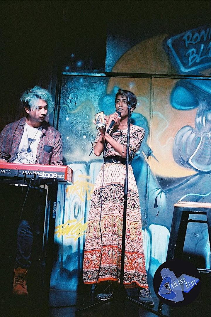 Talking Blue Spoken Word Open Showcase Tuesdays @ Ronnie's Blue Bar image