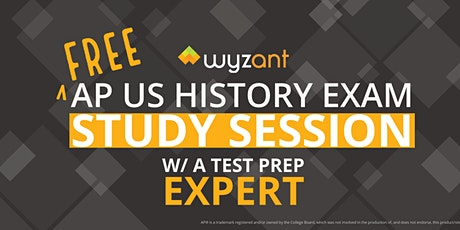 FREE United States History Exam Study Session tickets