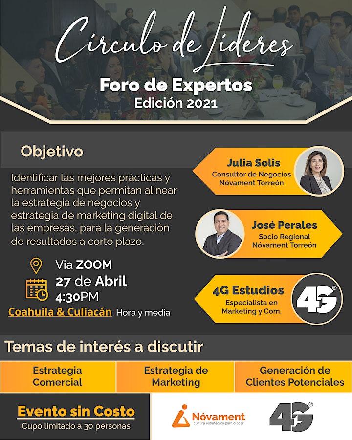 Imagen de Círculo de Líderes Coahuila & Culiacan  -  Inspire by experience