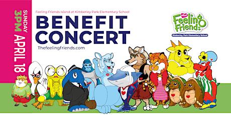 Benefit Concert: Feeling Friends Island at Kimberley Park Elementary tickets