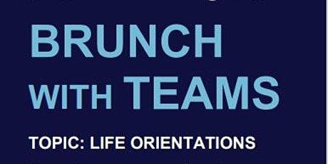 BRUNCH WITH TEAMS - APRIL tickets