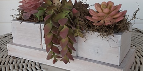 Mother's Day Brunch & DIY Workshop with Faux Succulents tickets