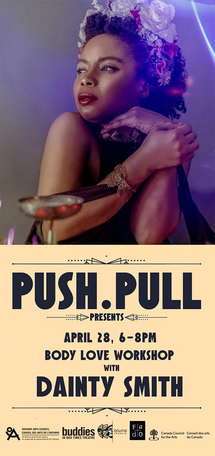PUSH.PULL presents Body Love with Dainty Smith Workshop image