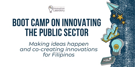 Boot Camp on Innovating the Public Sector tickets