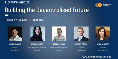 DAY 2 - Building The Decentralised Future tickets