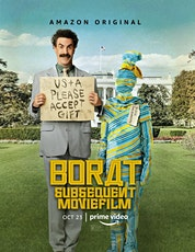 BORAT SUBSEQUENT MOVIEFILM tickets