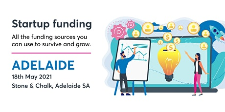 Startup Funding [S&C ADL 18May] tickets
