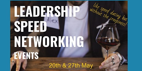 Leadership Speed Networking - Virtual tickets