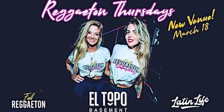 Reggaeton Thursdays - Bondi Junction tickets