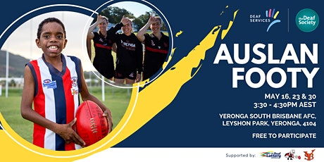 Auslan Footy tickets