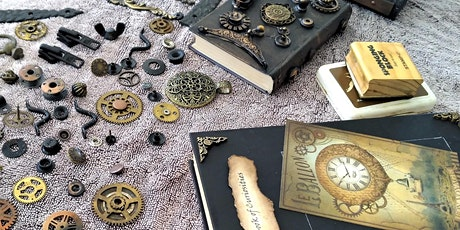 Upcycle Books with Steampunk with Carmel Cox tickets