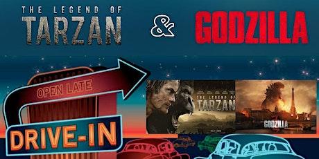Kapolei Drive In - The Legend of Tarzan and Godzilla tickets