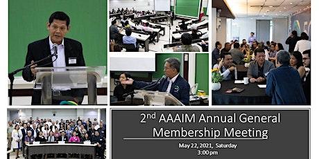 2021 Annual General Meeting of the Alumni Association of AIM, Inc. (AAAIM) tickets