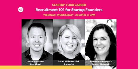 Recruitment 101 for Startup Founders tickets