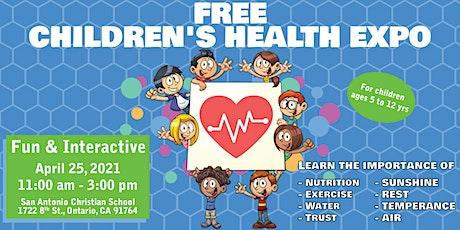 FREE CHILDREN'S HEALTH EXPO tickets