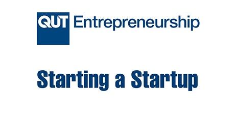 Starting a Startup tickets