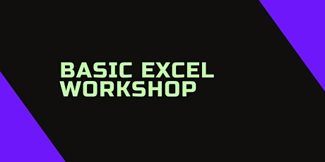 Basic Excel Workshop tickets