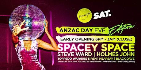 Anzac Day Eve - Tramp Saturdays Edition APR 24TH tickets