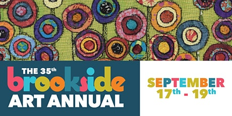 2021 Brookside Art Annual – Sept 17th to 19th tickets