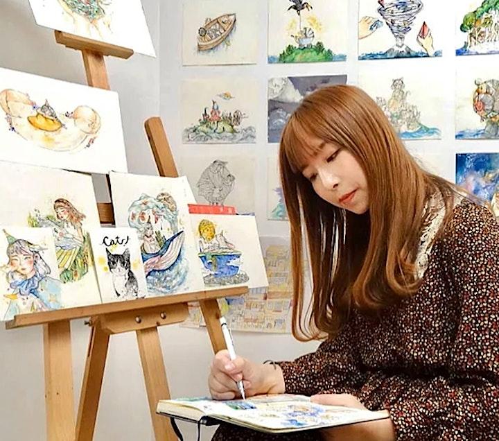 【Urban House Gallery】《靈感的長河 River of inspiration》- Momo Leung image