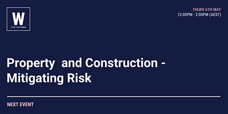 Property and Construction Law - Mitigating Risk tickets