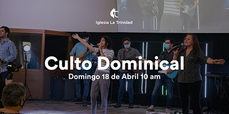 Culto Domingo - 18 de Abril 10am boletos