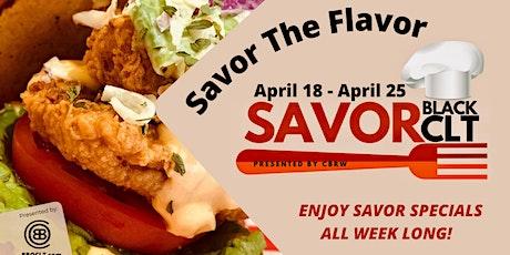 SAVOR Black CLT (Spring Edition of Charlotte Black Restaurant Week) ingressos