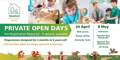 Woodland Kennedy Town Open Day tickets