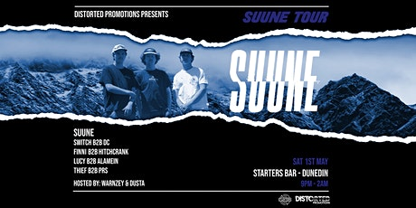 Distorted Promotions Presents: Suune Tour - Dunedin tickets